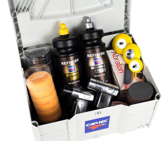 Headlight restoration kit Cartec